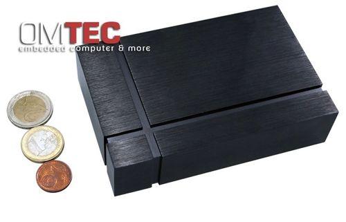 AN2570 - Lüfterloser ultra kompakter Embedded Computer Intel Atom N2600 2GB DDR3 – Bild 2