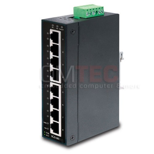 SH-GS80M  8port managed switch