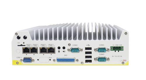 Nuvo-5104VTC - Intel® 6. Gen Skylake Core™ i7/i5/i3 In-Vehicle Controller mit 4x RJ45 PoE+ Ports, DIO, CAN Bus und RAID – Bild 3
