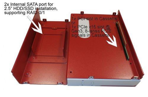 KaToM-5006E-POE-i7QC - безвентиляторный встраиваемый ПК  – Bild 7