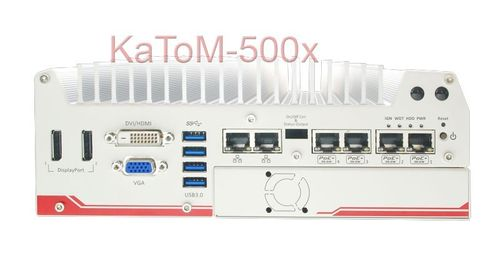 KaToM-5006E-POE-i7QC - Fanless embedded PC  – Bild 1
