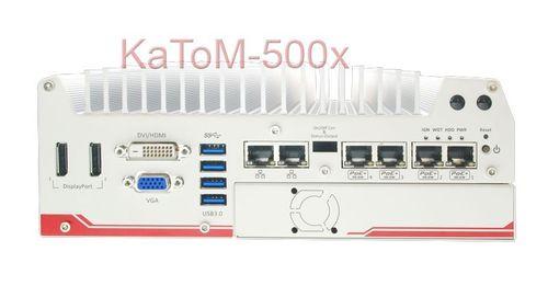 KaToM-5006E-POE-i7QC - Lüfterloser Embedded PC  – Bild 1
