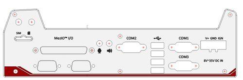 Nuvo-5000LP back panel-DB9 – Bild 1