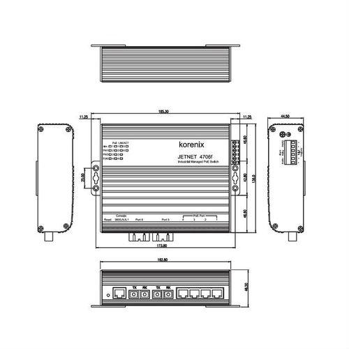 Korenix JetNet 4706f-m – Bild 2