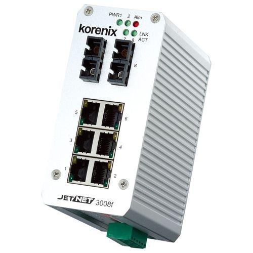 Korenix JetNet 3008f-m (8 Ports) – Bild 1
