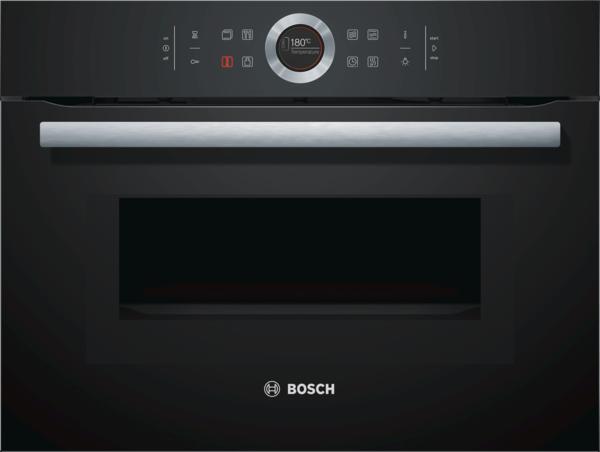 bosch kompaktbackofen mit mikrowelle cmg633bb1 vulkan. Black Bedroom Furniture Sets. Home Design Ideas