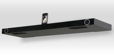[Zweite Wahl] Finite Elemente Soundboard Hohrizontal 51 schwarz