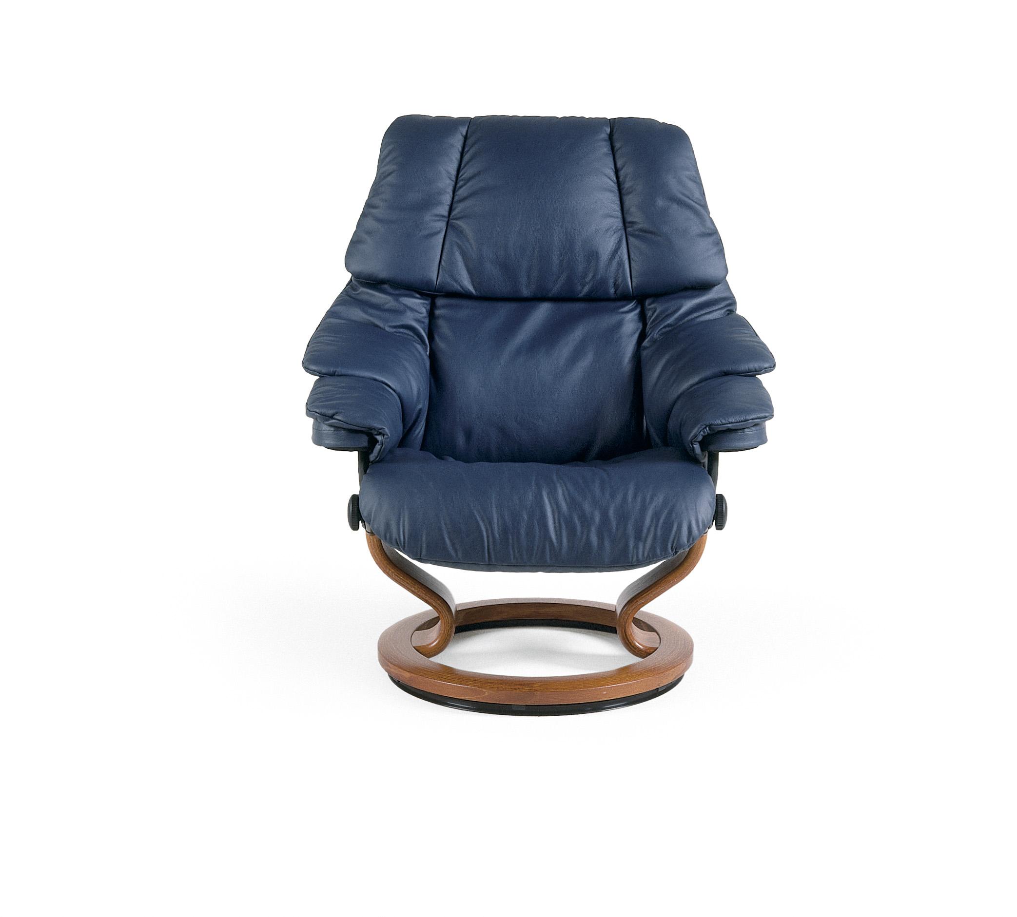 Stressless Set Reno Classic Sessel Mit Hocker Größe L Leder Paloma