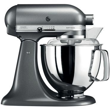 KitchenAid Küchenmaschine 5KSM175PSEMS 4,8L Artisan Medaillon-Silber  inkl. 5 Jahre Garantie