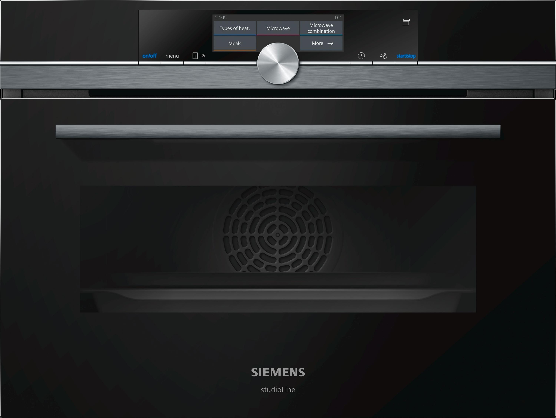 Siemens Studioline Kühlschrank : Siemens studioline cs grb iq kompaktdampfbackofen inkl