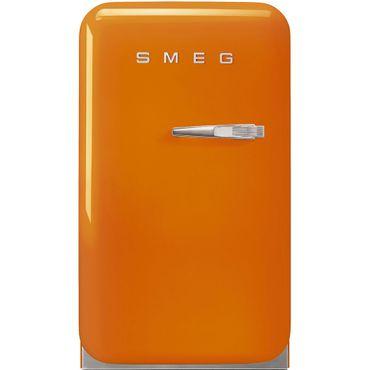 Smeg Minibar Standkühlschrank FAB5LOR Farbe Orange, Linksanschlag inkl. 5 Jahre Garantie