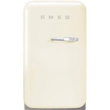 Smeg Minibar Standkühlschrank FAB5LCR Farbe Creme, Linksanschlag inkl. 5 Jahre Garantie