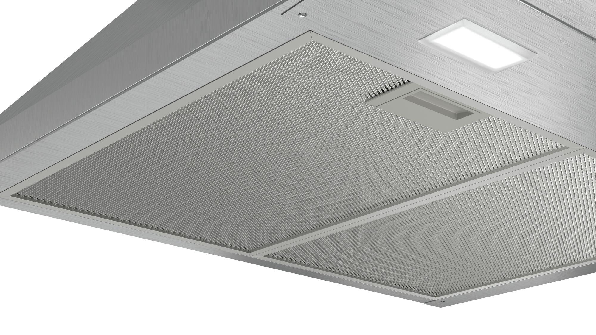 Bosch dwp64bc50 dunstabzugshaube im walmdach design farbe edelstahl