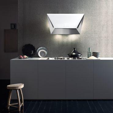 Falmec Prisma - Wandhaube 115 cm - Weiß - 800m³/h - 100328 inkl. 5 Jahre Garantie