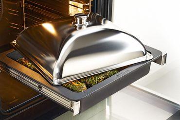 Miele Gourmet-Bräter-Set HUB 5001 XL+ Gourmet Bräter-Bräterdeckel HBD 60-35