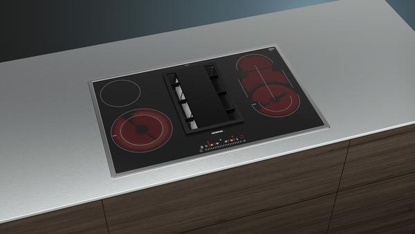siemens et845fm11e elektro kochfeld mit integriertem dunstabzug inkl 5 jahre garantie von. Black Bedroom Furniture Sets. Home Design Ideas