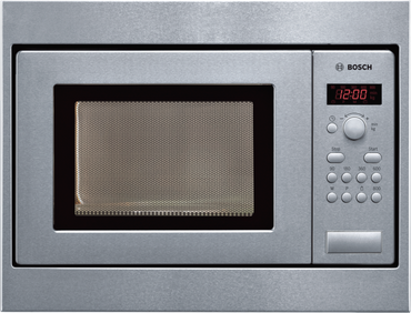 Bosch HMT75M551 Mikrowellengerät, Edelstahl inkl. 5 Jahre Garantie