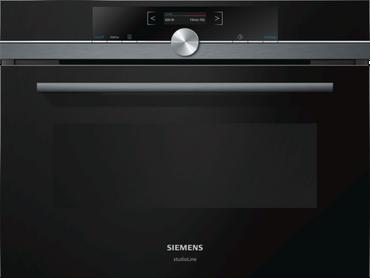 Siemens Studioline CF834AGB1 Einbau-Mikrowelle in schwarz inkl. 5 Jahre Garantie