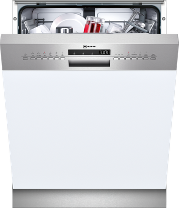Neff S413G60S0E Geschirrspüler 60cm Integrierbar, Edelstahl inkl. 5 Jahre Garantie