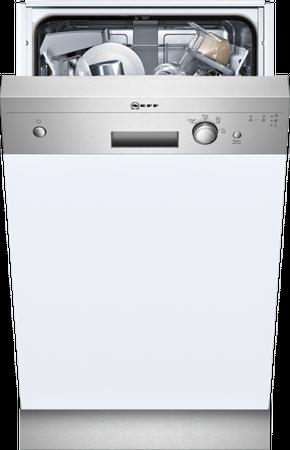 Neff S481C40S0E Geschirrspüler Slimline 45cm Integrierbar, Edelstahl inkl. 5 Jahre Garantie