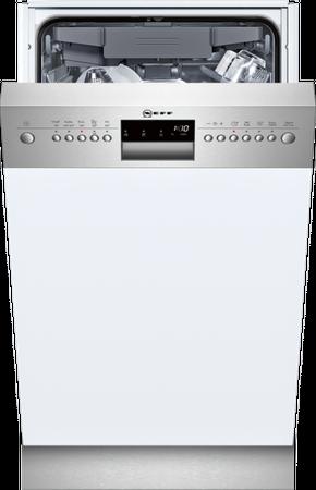 Neff S483M50S0E Geschirrspüler Slimline 45cm Integrierbar, Edelstahl inkl. 5 Jahre Garantie