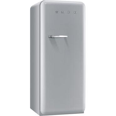 [Zweite Wahl] Smeg Stand-Kühlschrank FAB28RX1 Farbe Polarsilber Metallic, Rechtsanschlag
