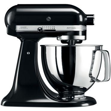 KitchenAid Artisan Küchenmaschine 4,8 L 5KSM175PSEOB Farbe Onyx Schwarz inkl. 5 Jahre Garantie