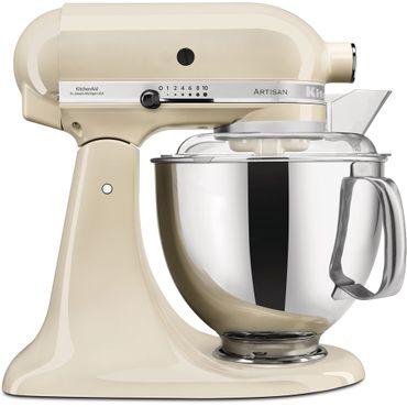 KitchenAid 5KSM175PSEAC Küchenmaschine Crème + WM Bundle