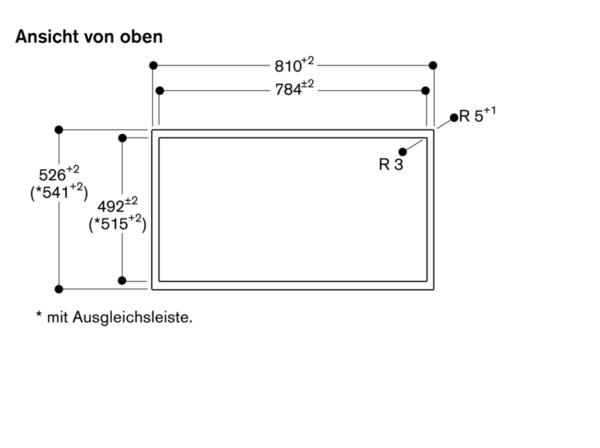 Gaggenau Cx482110 Vollflacheninduktions Kochfeld Mit Edelstahlrahmen