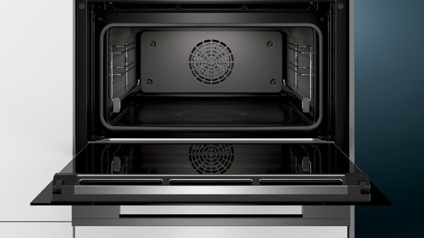 Siemens studioline cs856gpb7 backofen mit dampffunktion schwarz