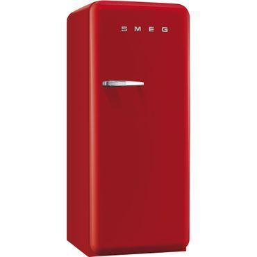Smeg Stand-Kühlschrank FAB28LRD3 Farbe Rot, Linksanschlag inkl. 5 Jahre Garantie