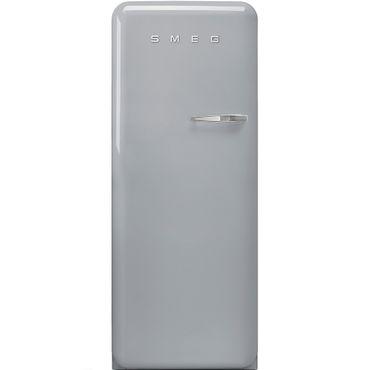 Smeg Stand-Kühlschrank FAB28LSV3 Farbe Polarsilber Metallic Linksanschlag inkl. 5 Jahre Garantie