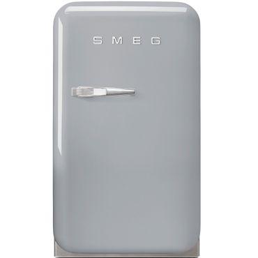 Smeg Minibar Standkühlschrank FAB5RSV Farbe Polarsilber Metallic, Rechtsanschlag inkl. 5 Jahre Garantie