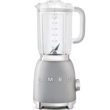 SMEG BLF01SVEU Standmixer, Farbe Silber, 50's Retro Style