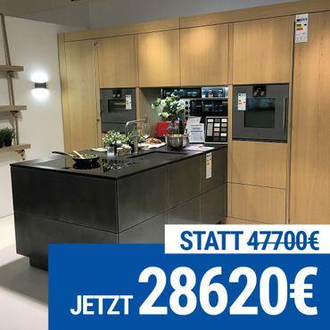 """Warendorf """"N21"""" einzigartige Küchenzeile mit Insel"""