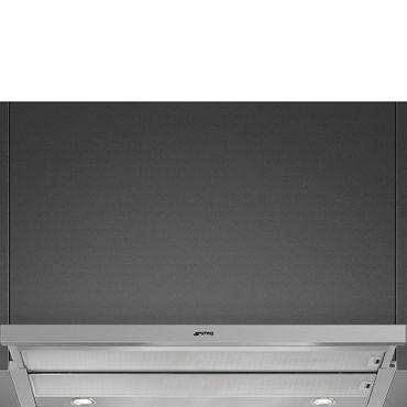 SMEG KSET900HXE Flachschirmhaube, 90cm, Neutrales Design, Teleskop-Frontauszug, Edelstahl inkl. 5 Jahre Garantie