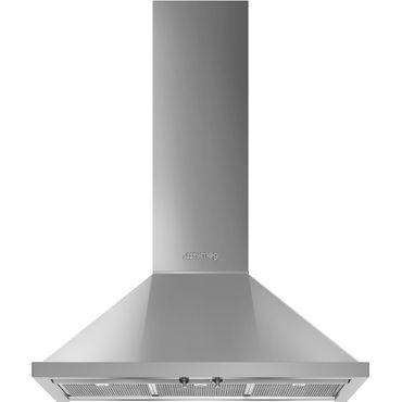 SMEG KPF9X Dekor-Wandhaube, 90cm, Edelstahl, Portofino Design inkl. 5 Jahre Garantie