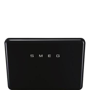 SMEG KFAB75BL 50's Retro Style - Wandhaube Kopffrei, 75cm, Schwarz inkl. 5 Jahre Garantie