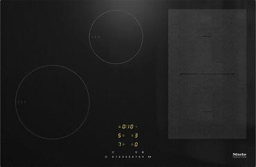 Miele KM 7414 FX Glas Induktions-Kochfeld Schwarz inkl. 5 Jahre Garantie