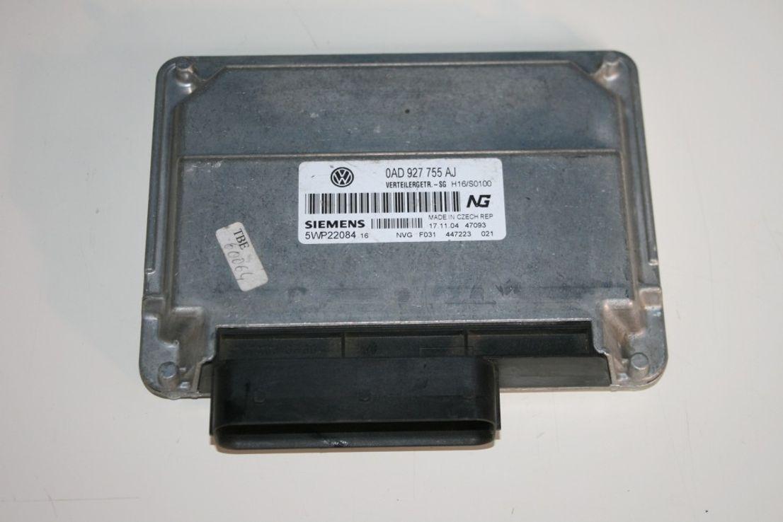 Original VW Touareg Steuergerät Verteilergetriebe Getriebe 0AD927755AJ