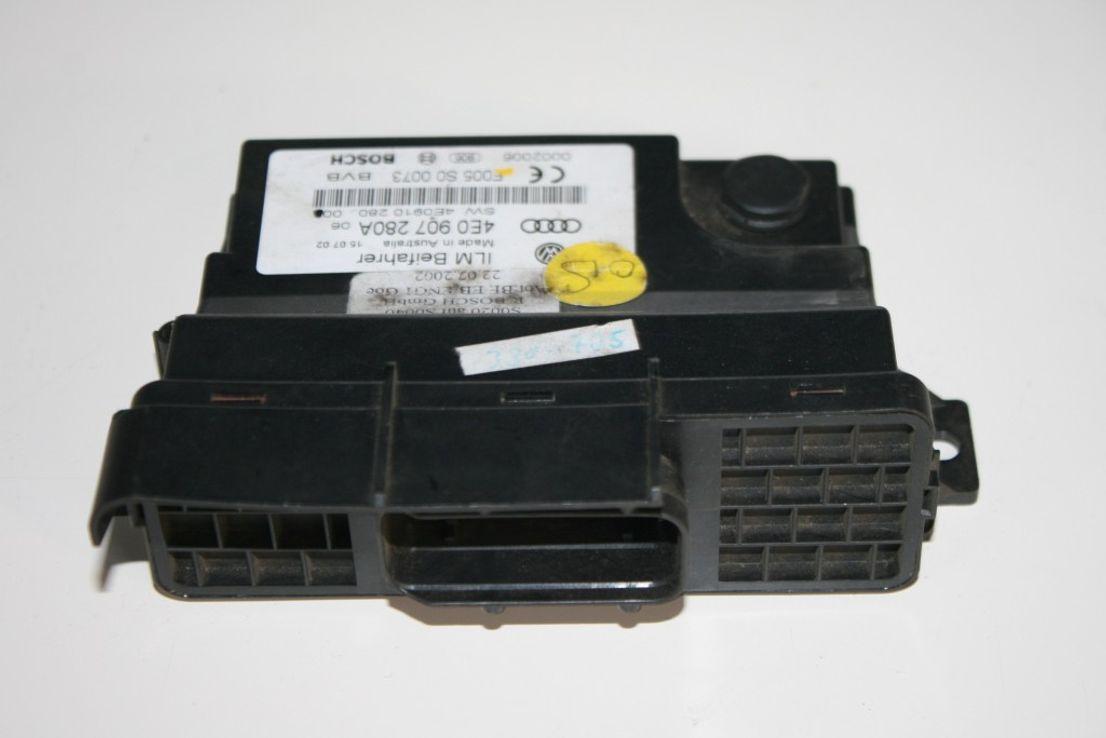 Audi A8 Steuergerät Leistungsmodul Bordnetz 4E0907280A Bordnetzsteuergerät