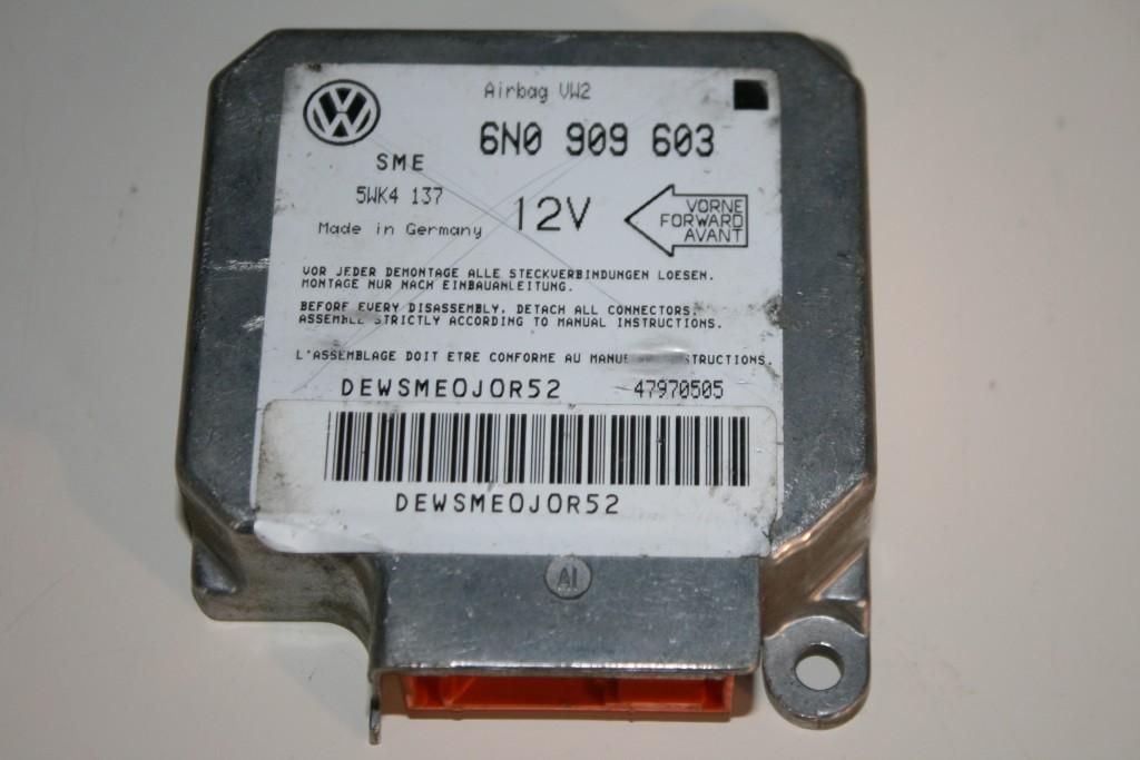 VW Polo 6N Airbagsteuergerät Airbag Steuergerät 6N0909603