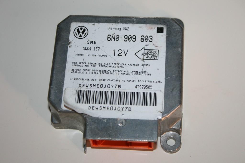 VW Polo 6N Airbagsteuergerät Airbag 6N0909603 Steuergerät