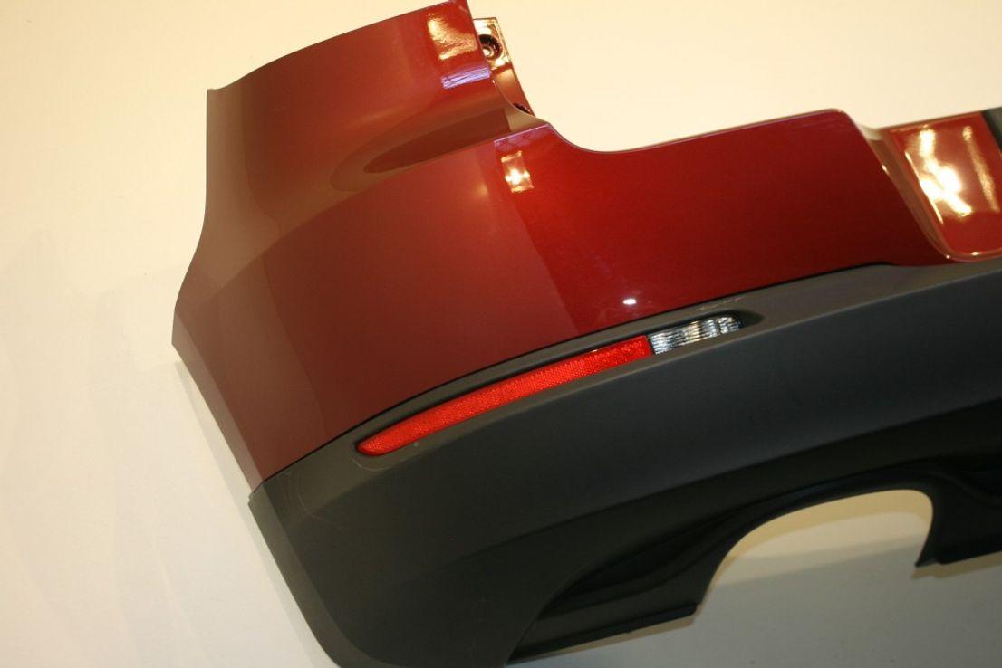 Original VW Tiguan 5N0 Heckstoßstange RFL Wild Cherry Red LA3T 2K2K Stoßstange