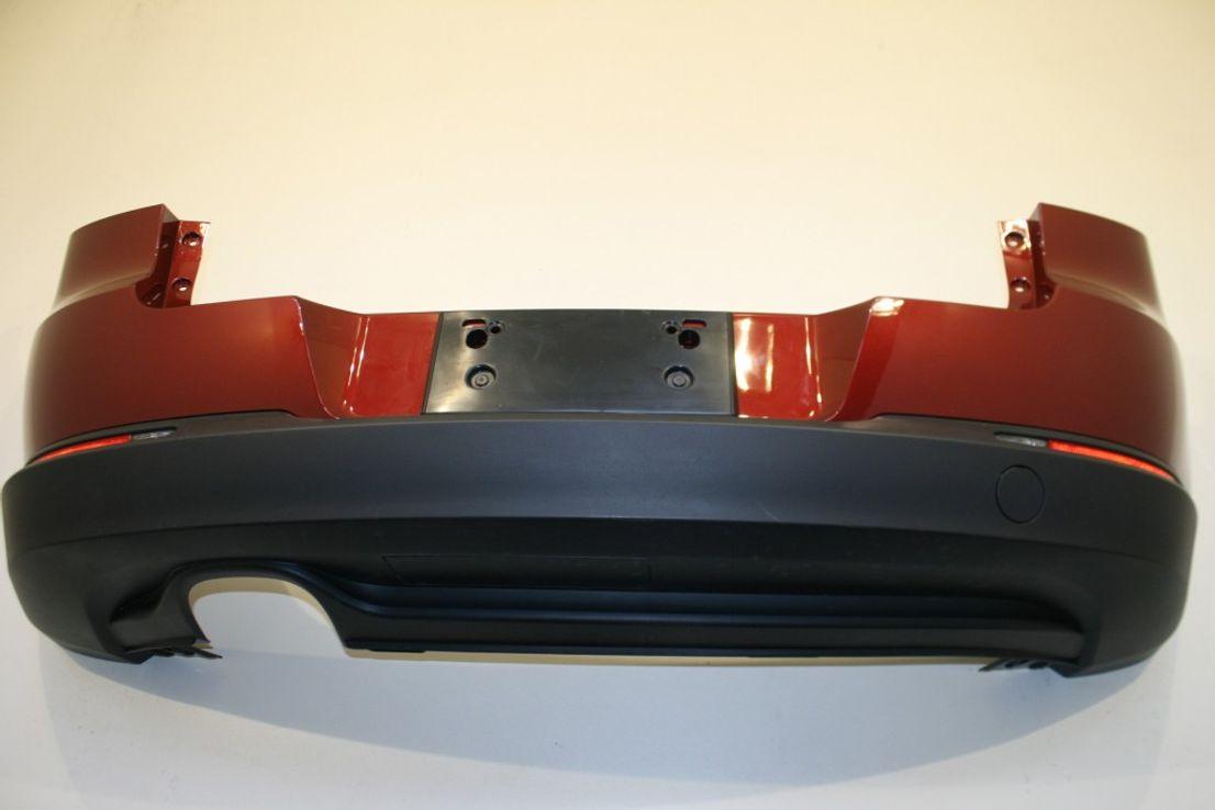 VW Tiguan 5N0 Heckstoßstange Wild Cherry Red LA3T 2K2K Stoßstange hinten RFL