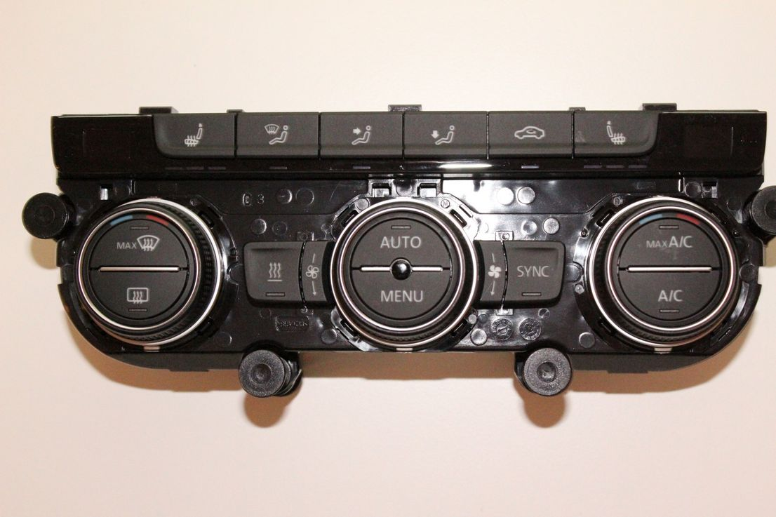 Orig. VW Golf 7 Klima Steuergerät Klimabedienelement Klimabedienteil 5G0907044AP