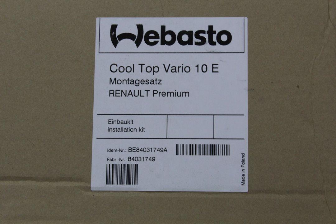 Kit Renault Premium Webasto Einbaukit Cool Top Vario 10 E BE84031749A
