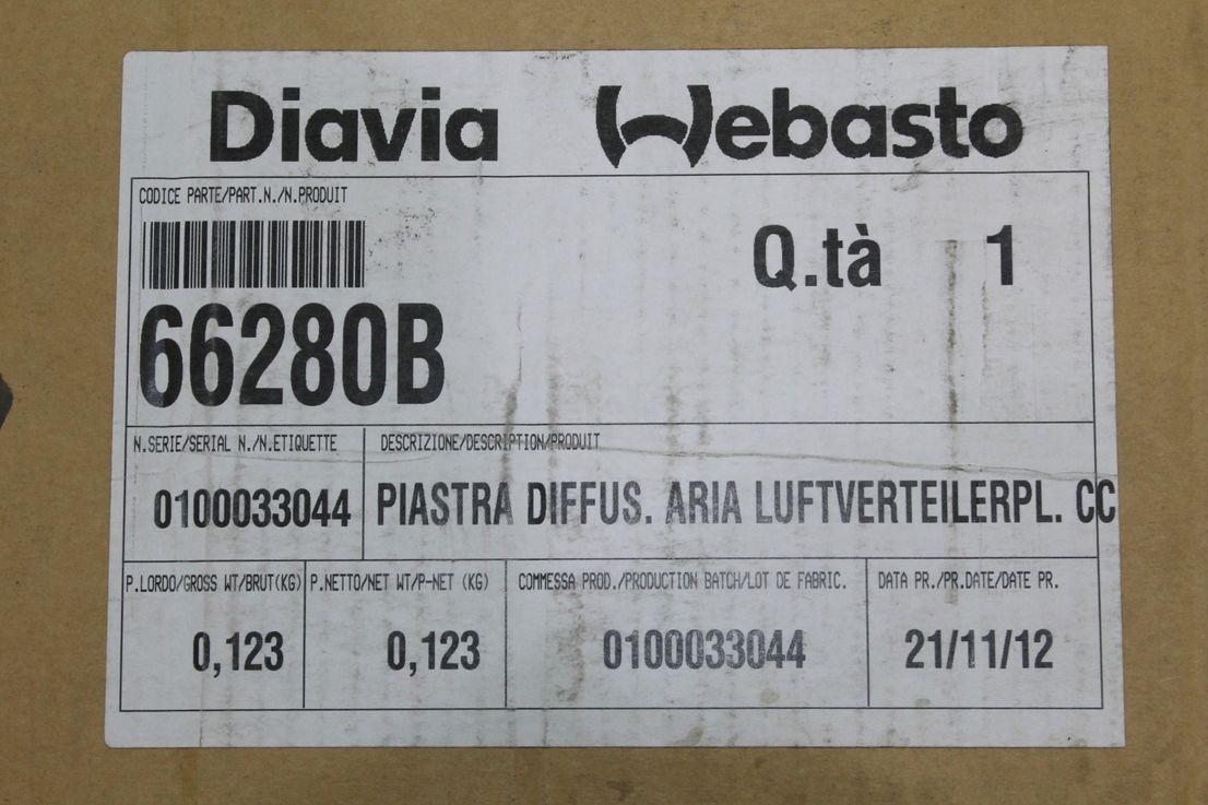 Abdeckblende 175mm Webasto 33S5MR0005