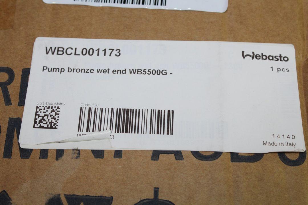 Pumpe WB5500G - 230V 50 / 60 HZ - Pumpenme Webasto WBCL001173