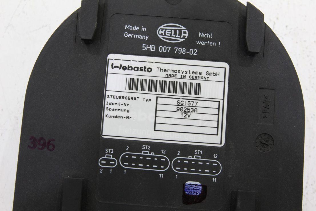 Steuergeraet 1577_Programme 12V / Benzin Webasto 90253A